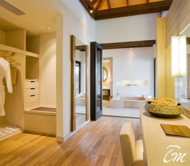COMO Maalifushi Maldives Water Villa Dressing Room