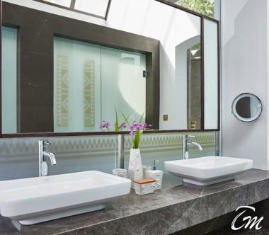 Conrad Maldives Rangali Island Deluxe Beach Villa Bathroom