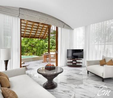 Conrad Maldives Rangali Island Deluxe Beach Villa Interior