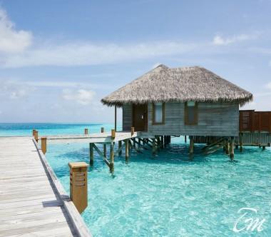 Conrad Maldives Rangali Island Family Water Villa Exterior