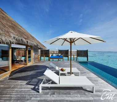 Conrad Maldives Rangali Island Premier Water Villa Deck