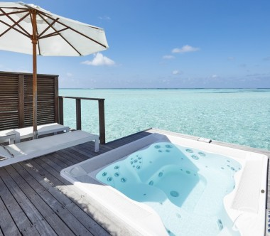 Conrad Maldives Rangali Island Retreat Water Villa Deck