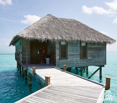 Conrad Maldives Rangali Island Retreat Water Villa Exterior