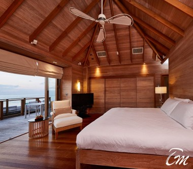 Conrad Maldives Rangali Island Sunset Water Villa Second Bedroom