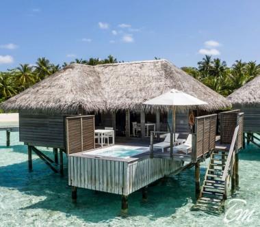 Conrad Maldives Rangali Island Water Villa Deck Exterior