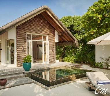 Fairmont Maldives - Sirru Fen Fushi Beach Sunrise Villa - Exterior