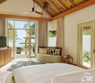 Fairmont Maldives - Sirru Fen Fushi Beach Sunrise Villa - Interior