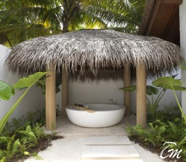 fairmont Maldives - Sirru Fen Fushi - Beach Sunrise Villa Bathtub