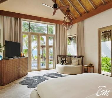 fairmont Maldives - Sirru Fen Fushi Beach Sunset Villa - Interior