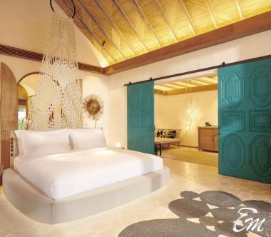 Fairmont Maldives - Sirru Fen Fushi Deluxe Beach Sunset Villa  - Interior
