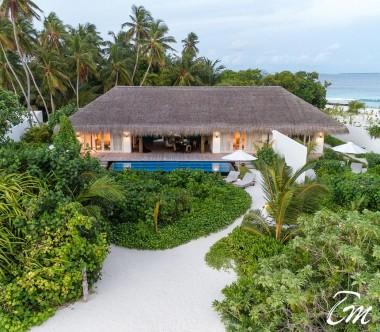 Fairmont Maldives - Sirru Fen Fushi Five Bedroom Beach Sunset Villa