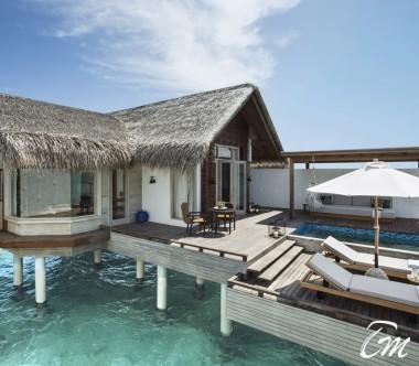 Fairmont Maldives - Sirru Fen Fushi Grand Water Sunset Villa - Exterior