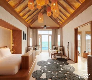 Fairmont Maldives - Sirru Fen Fushi Grand Water Sunset Villa Interior
