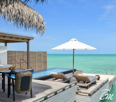 Fairmont Maldives - Sirru Fen Fushi Luxury Grand Water Sunset Villa
