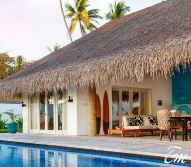 Fairmont Maldives - Sirru Fen Fushi Seven Bedroom Beach Sunset Villa - Exterior