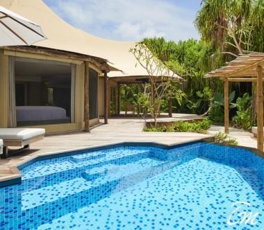 Fairmont Maldives - Sirru Fen Fushi Luxury Tented Villa - Exterior