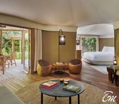 Fairmont Maldives - Sirru Fen Fushi Luxury Tented Villa - Interior