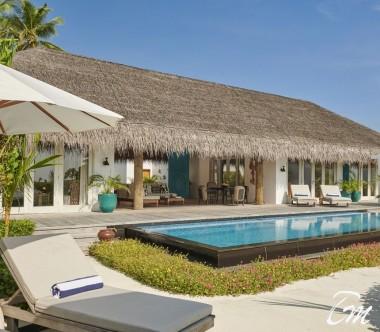 Fairmont Maldives - Sirru Fen Fushi Three Bedroom Beach Sunset Villas