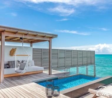 Fairmont Maldives - Sirru Fen Fushi Three Bedroom Water Sunset Villa Pool