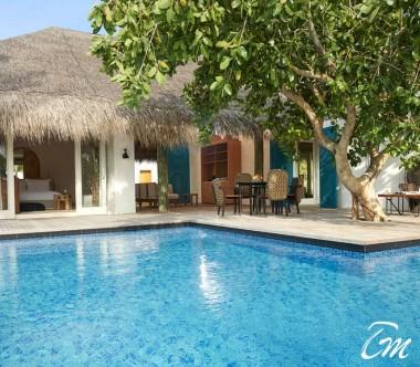 Fairmont Maldives - Sirru Fen Fushi Two Bedroom Beach Sunset Villa - Exterior