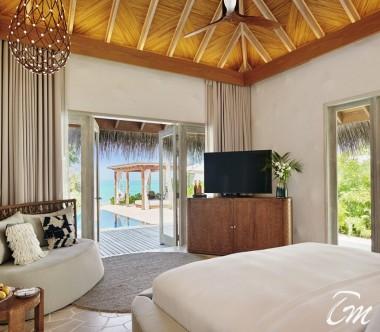 Fairmont Maldives - Sirru Fen Fushi Two Bedroom Beach Sunset Villa Interior