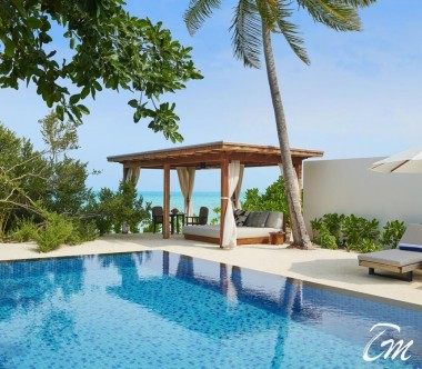 Fairmont Maldives - Sirru Fen Fushi Two Bedroom Beach Sunset Villa Pool