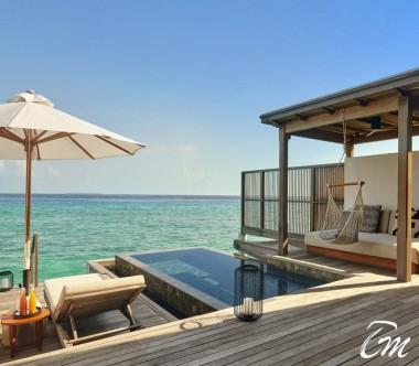 Fairmont Maldives - Sirru Fen Fushi Two Bedroom Water Sunrise Villa - Deck