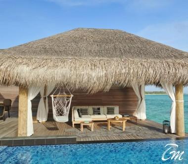 Fairmont Maldives - Sirru Fen Fushi Two Bedroom Water Sunset Villa Deck