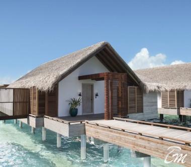 Fairmont Maldives - Sirru Fen Fushi Water Sunrise Vila - Exterior