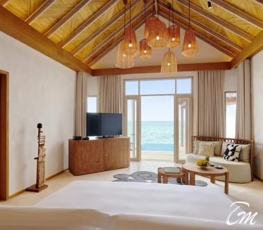Fairmont Maldives - Sirru Fen Fushi Water Sunrise Vila - Interior