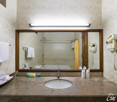 Fihalhohi Island Resort Maldives Premium Room Bathroom
