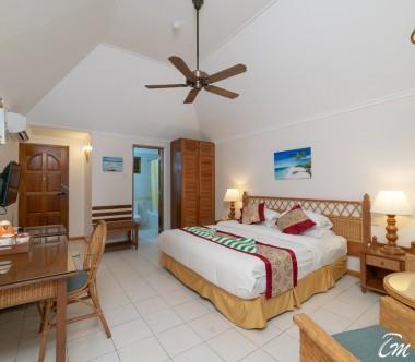 Fihalhohi Island Resort Maldives Premium Room Interior