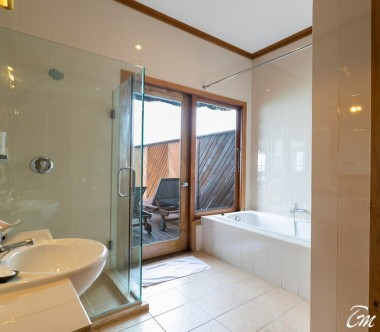 Fihalhohi Island Resort Maldives Water Villa Bathroom