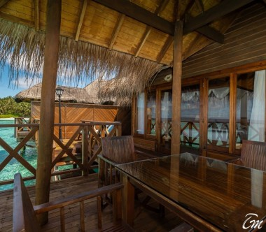 Fihalhohi Island Resort Maldives Water Villa Deck