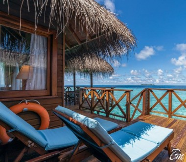 Fihalhohi Island Resort Maldives Water Villa Exterior