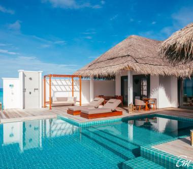 Finolhu - Baa Atoll Maldives Rockstar 2 Bedroom Ocean Pool Villa
