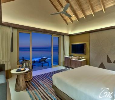 Hard Rock Hotel Maldives Platinum Overwater Villa Interior