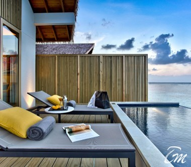 Hard Rock Hotel Maldives Platinum Overwater Villa Deck