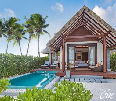 Heritance Aarah Resort Maldives Pool Beach Villa Exterior
