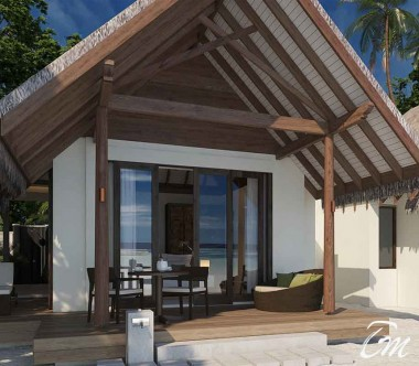 Heritance Aarah Resort Maldives Family Beach Villa Exterior