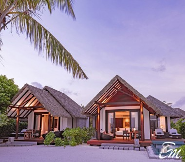Heritance Aarah Resort Maldives Family Pool Beach Villa Exterior