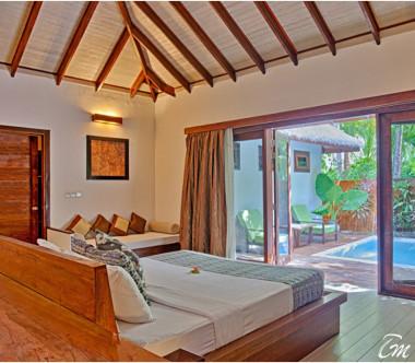 Kihaa Maldives Garden Villa with Pool