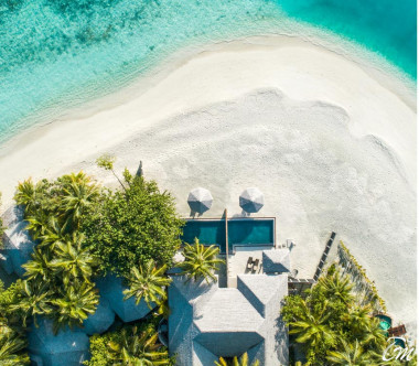 Kihaa Maldives Two Bedroom Beach Suite with Private Pool