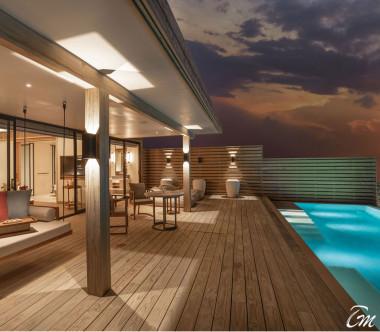Kuda Villingli Resort Maldives Water Villa with Pool