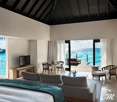 Outrigger Konotta Maldives Resort Sunset Lagoon Villa with Private Pool