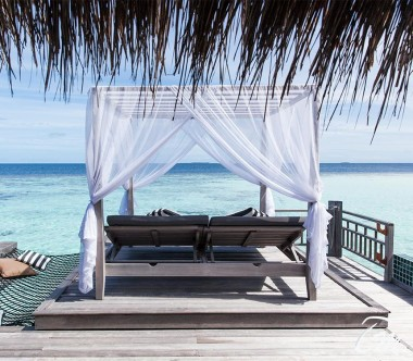 Outrigger Konotta Maldives Resort Sunset Overwater Villa with Private Pool