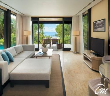 Outrigger Konotta Maldives Resort Two Bedroom Beach Villa with Private Pool