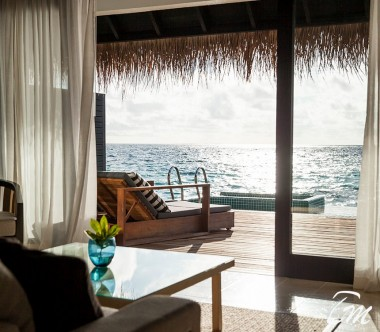 Outrigger Konotta Maldives Resort Two Bedroom Sunset Lagoon Villa with Private Pool