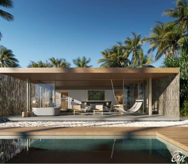 Patina Maldives - Fari Islands One Bedroom Beach Pool Villa