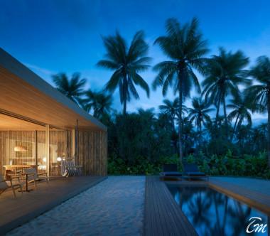 Patina Maldives - Fari Islands One Bedroom Sunset Beach villa with private pool